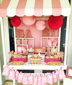 Dessert Table For A Baby Girl Baby Shower! Would Def. Do This For My