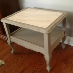 Side table in Cocoa AS chalk paint