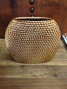 Decorative Honeycomb Pattern vase - Warner Bros. Property Department