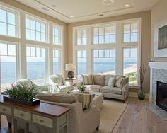 Beach Side Window Room. I would KILL to have this view right now!