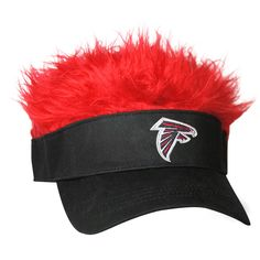 e8fd0a8de NFL Flair Hair Adjustable Visor