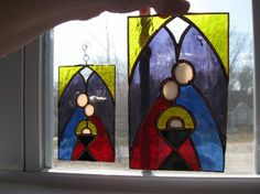 stained glass nativity patterns   NCPAROLELADY » NATIVITY SCENE