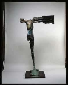 Stephen De Staebler, Standing Man with Outstretched Arm, 1987, 86 x 50.5 x 35.5 in.