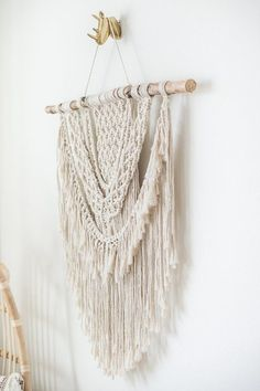 Work from home office decor from Larks and Leo on Etsy! Featuring modern bohemian macrame designs and more! Bring out your boho with this beautiful home decor. Click image to shop Home Party Business, Best Home Business, Large Macrame Wall Hanging, Tapestry Wall Hanging, Wall Hangings, Home Business Opportunities, Business Ideas, Bohemian Wall Decor, Macrame Design