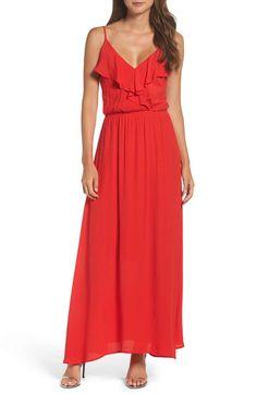 Fraiche by J Blouson Maxi Dress  9909fe0ce