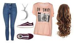 """""""Untitled #1531"""" by beau-4-ever ❤ liked on Polyvore featuring Topshop, Vans, ONLY and Carolina Glamour Collection"""
