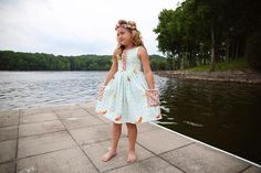 June Dress – Violette Field Threads Trendy Dresses, Summer Dresses, Gathered Skirt, Step By Step Instructions, Kids Wear, Sewing Hacks, Bodice, Dressing, How To Wear
