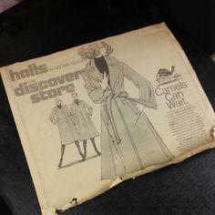 Halls Crown Center ad. Mid-1970s. #KC #kansascity