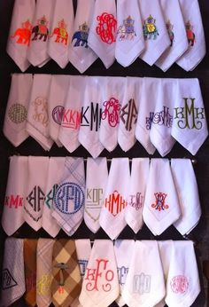 Monograms to Lust After