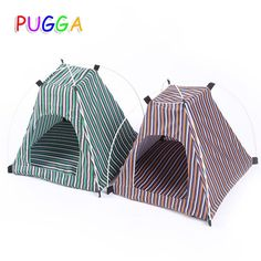 Portable Foldable Pet Tent Playpen Tent For Kitten Cat Small Dog Puppy Kennel Tents Cats Nest Toy House