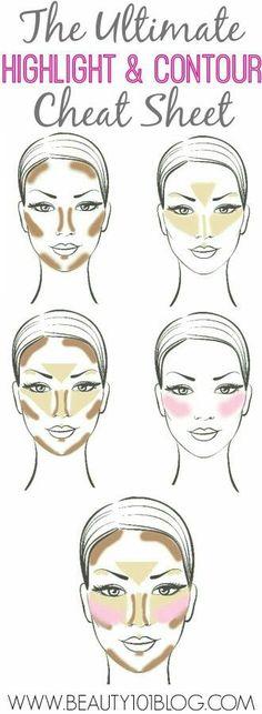 Trucos de maquillajes                                                                                                                                                                                 Más #makeupideas