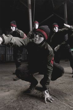 Masked men Jabbawockeez Via......ohhhhhh...[im fear]