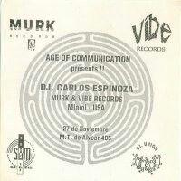 Flyer de MURK en Age of Comunication de Buenos Aires