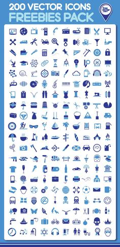 200 #Vector #Icons, #AI, #EPS, #Flat, #Free, #Graphic #Design, #Icon, #JPG, #Objects, #PSD, #Resource