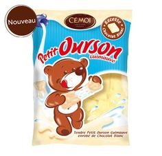 Marshmallow bears - with WHITE Chocolate! - Cemoi