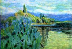 Pierre Bonnard : La Seine 1930 - Art Experience NYC www.artexperiencenyc.com