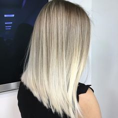 So crisp and well blended @ombrebalayage