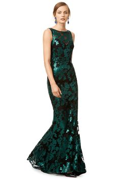 Dresses to Wear to Holiday Parties - 'Ivy' gown from Rent the Runway