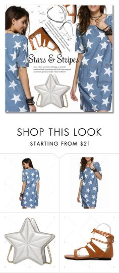 """Stars and Stripers"" by svijetlana ❤ liked on Polyvore"