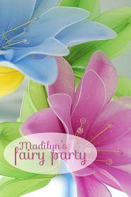 Simple ideas for a magical fairy birthday party.