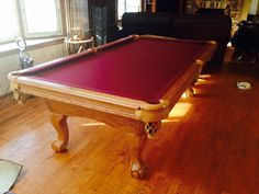 Brunswick Billiards Orleans Gorgeous Solid Wood Pool Tables - American heritage pool table prices
