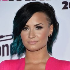 Demi Lovato's bold short haircut is one of our best celebrity hairstyles of 2014.
