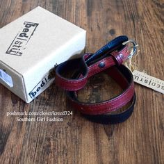 I just discovered this while shopping on Poshmark: FREE PEOPLE Belt Leather Bed Stu Classic Thin WrapNWT. Check it out!  Size: L