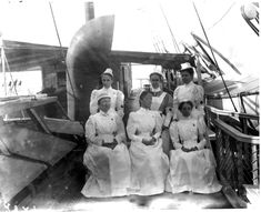 American nurses, Spanish American War.