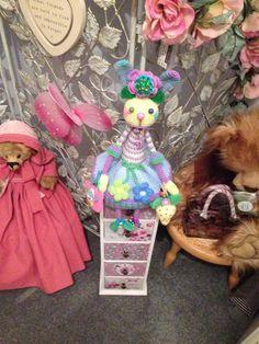 Crochet Bunny, Crochet Dolls, Amigurumi Doll, Bunnies, Poppies, Country, Decor, Doll, Little Birds