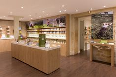 """Palais des Thés boutiques by Ova Design, Paris   France ~We started with tea and the values it represents, and we projected the tasting experience by connecting the boutique's interior to that of the home. It is now an invitation to take one's time and discover the multitude of flavours in this ancestral product""""."""