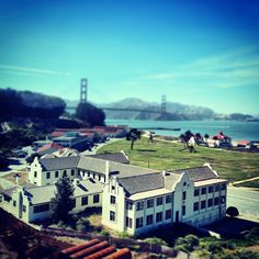 Presidio of San Francisco in San Francisco, CA  Often enjoyable family focused events are held here.  The view of the bay is breathtaking here.