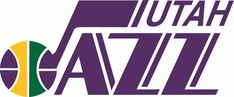 Utah Jazz Primary Logo (1980) - A basketball forming a music J note to write on Jazz with Utah