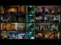 """The film, set to music, was then made available on the web site, hbovoyeur.com, with the slogan, """"""""See what people do when they think no one is watching.""""    Apartment 1A, """"The Tempted""""  Apartment 1B, """"The Departure""""  Apartment 2A, """"The Discovery""""  Apartment 2B, """"The Proposal""""  Apartment 3A, """"The Killer Within""""  Apartment 3B, """"The Grown-Up Table""""  Apartment 4A, """"The Delivery""""  Apartment 4B, """"The Temptress"""""""