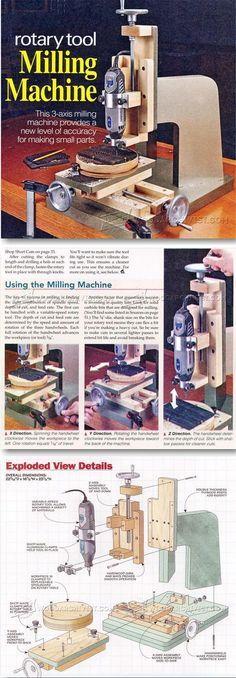 DIY Milling Machine - Router Tips, Jigs and Fixtures   WoodArchivist.com
