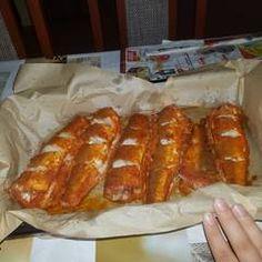 Tepsiben sült hekk MiCsillától | MiCsilla receptje - Cookpad receptek French Toast, Bread, Breakfast, Food, Morning Coffee, Meal, Essen, Hoods, Breads