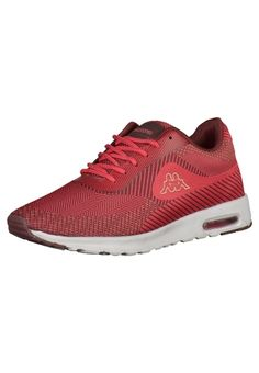 #KAPPA #Damen #Sneaker #rot - Super leichter Sneaker von Kappa. Die Innensohle…