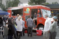 You need a solid food truck business plan in order to start a successful food truck business - Shown here is Fusion on the Run food truck in Seattle, WA.