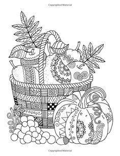 Autumn Colors: Adult Coloring Book: Creative Coloring: 9781942268468: Amazon.com: Books