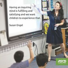 How can teachers cultivate curiosity? Start by simply asking: What can I do to promote an inquiry-friendly classroom environment?