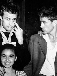 james dean and marlon brando