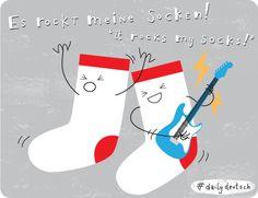 Es rockt meine Socken