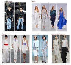 My favourite styles of Spring Summer 2014 COLLECTION apparel, shoes and make up by Louis Vuitton, Krizia, L'Wren Scott, M. Patmos, Maison Rabih Kayrouz  ------- i miei preferiti della COLLEZIONE moda Primavera Estate 2014 abbigliamento scarpe accessori e trucco