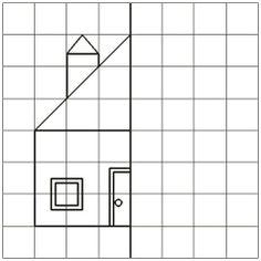 Encontrado no Bing em noticiasdobrunopontocom.blogspot.com Symmetry Worksheets, Symmetry Activities, Kids Math Worksheets, Preschool Printables, Teaching Math, Learning Activities, Preschool Activities, Kids Learning, First Grade Lessons