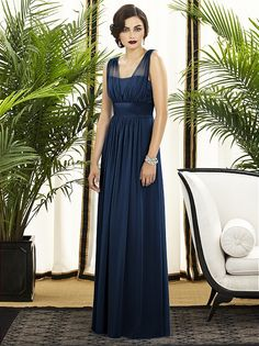 Shop Dessy bridesmaid dresses in a wide range of styles, colors, and sizes. Browse our online collection and find the perfect bridesmaid dress to make the big day extra special. Navy Blue Bridesmaids, Navy Blue Bridesmaid Dresses, Navy Blue Dresses, Wedding Bridesmaids, Navy Blue Dress Makeup, Grecian Bridesmaid Dress, Wedding Dress Styles, Wedding Attire, Marine Uniform
