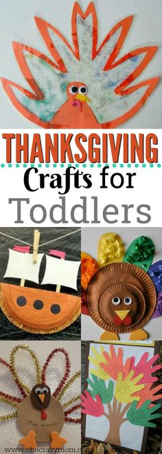 Easy Thanksgiving Crafts for Toddlers - Easy Thanksgiving Crafts for Kids The kids will not be bored with these fun and easy Thanksgiving crafts for toddlers. 20 easy Thanksgiving crafts for kids they will love. Thanksgiving Crafts For Toddlers, Thanksgiving Crafts For Kids, Thanksgiving Activities, Thanksgiving Decorations, Christmas Ideas For Toddlers, Fall Art For Toddlers, Kindergarten Thanksgiving Crafts, Holiday Crafts, Toddler Crafts