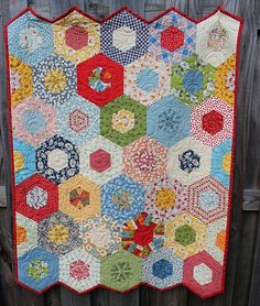 Handmade Baby Quilt / Gender Neutral for Girl or boy QuiltRhapsody, on etsy