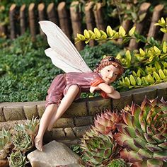 Lovely Fairy Garden Swing Set Kit With Miniature Fairies U0026 Accessories   Figurines  Avie And Stella By Pretmanns   My Garden   Pinterest   Garden Swing Sets,  ...