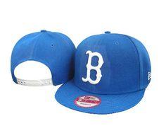 New Era MLB Boston Red Sox Blue Snapback Hats Caps 3252! Only $8.90USD