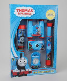 Look at this #zulilyfind! Thomas the Tank Engine Spy Adventure Set by Thomas & Friends #zulilyfinds #easter #basket #thomas #train