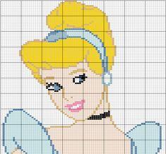 Cinderella Disney hama perler beads pattern